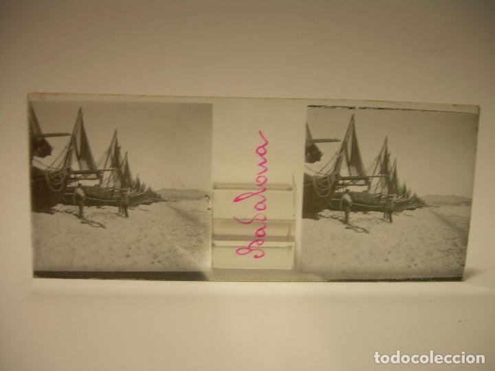 Fotografía antigua: BADALONA- MONTGAT,- MONTSENY- CAJETIN 22 CRISTAL ESTEREOSCOPICO- Ca.1910 - Foto 5 - 88947672