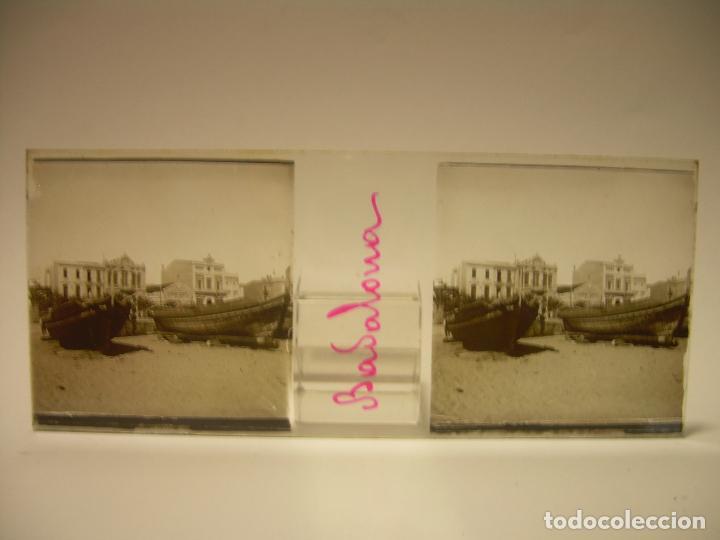 Fotografía antigua: BADALONA- MONTGAT,- MONTSENY- CAJETIN 22 CRISTAL ESTEREOSCOPICO- Ca.1910 - Foto 7 - 88947672