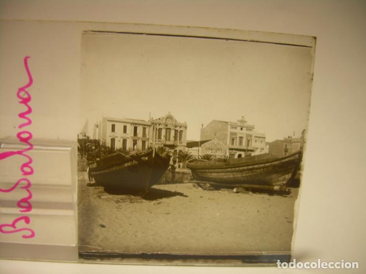 Fotografía antigua: BADALONA- MONTGAT,- MONTSENY- CAJETIN 22 CRISTAL ESTEREOSCOPICO- Ca.1910 - Foto 8 - 88947672