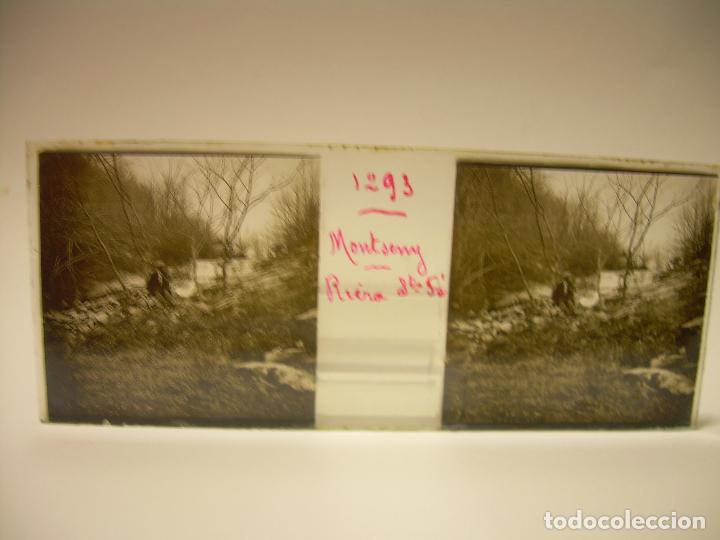 Fotografía antigua: BADALONA- MONTGAT,- MONTSENY- CAJETIN 22 CRISTAL ESTEREOSCOPICO- Ca.1910 - Foto 11 - 88947672