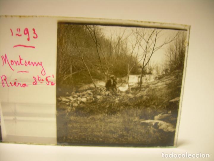 Fotografía antigua: BADALONA- MONTGAT,- MONTSENY- CAJETIN 22 CRISTAL ESTEREOSCOPICO- Ca.1910 - Foto 12 - 88947672