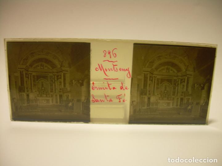 Fotografía antigua: BADALONA- MONTGAT,- MONTSENY- CAJETIN 22 CRISTAL ESTEREOSCOPICO- Ca.1910 - Foto 13 - 88947672