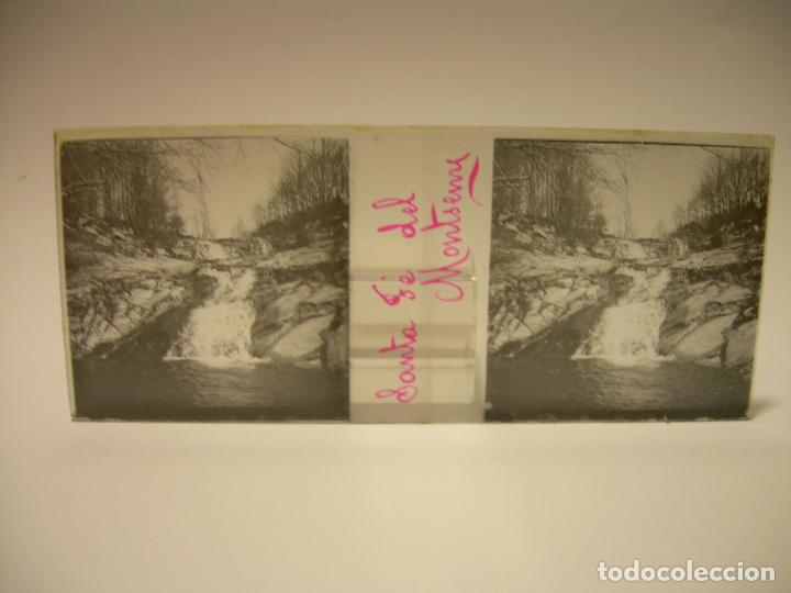 Fotografía antigua: BADALONA- MONTGAT,- MONTSENY- CAJETIN 22 CRISTAL ESTEREOSCOPICO- Ca.1910 - Foto 14 - 88947672