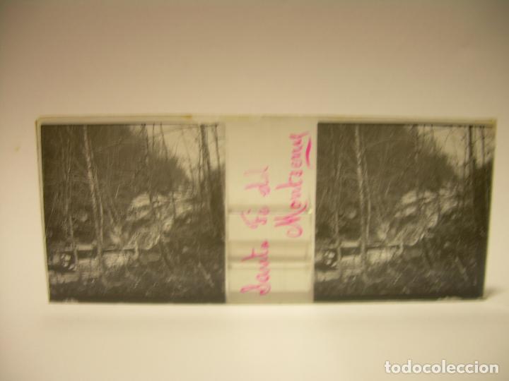 Fotografía antigua: BADALONA- MONTGAT,- MONTSENY- CAJETIN 22 CRISTAL ESTEREOSCOPICO- Ca.1910 - Foto 15 - 88947672
