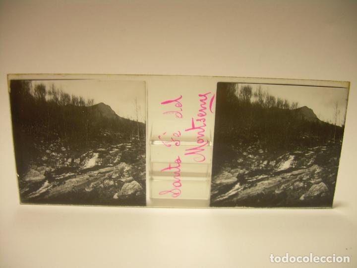 Fotografía antigua: BADALONA- MONTGAT,- MONTSENY- CAJETIN 22 CRISTAL ESTEREOSCOPICO- Ca.1910 - Foto 18 - 88947672