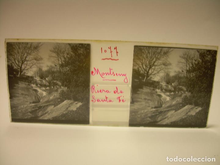 Fotografía antigua: BADALONA- MONTGAT,- MONTSENY- CAJETIN 22 CRISTAL ESTEREOSCOPICO- Ca.1910 - Foto 20 - 88947672