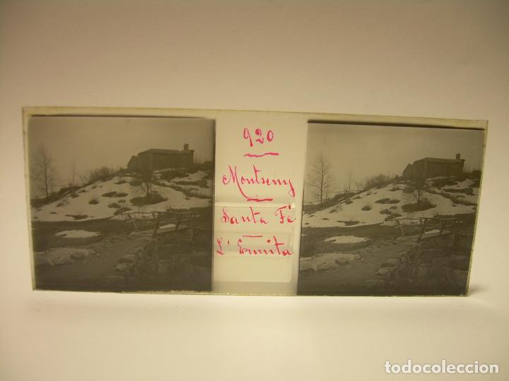 Fotografía antigua: BADALONA- MONTGAT,- MONTSENY- CAJETIN 22 CRISTAL ESTEREOSCOPICO- Ca.1910 - Foto 22 - 88947672