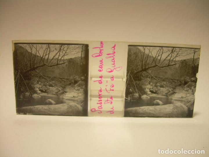 Fotografía antigua: BADALONA- MONTGAT,- MONTSENY- CAJETIN 22 CRISTAL ESTEREOSCOPICO- Ca.1910 - Foto 23 - 88947672