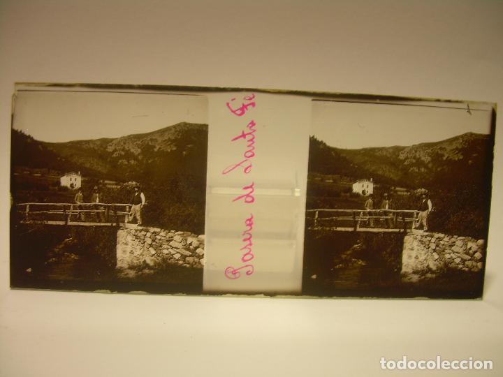 Fotografía antigua: BADALONA- MONTGAT,- MONTSENY- CAJETIN 22 CRISTAL ESTEREOSCOPICO- Ca.1910 - Foto 25 - 88947672