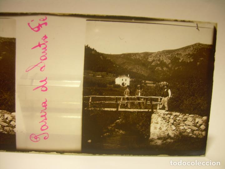 Fotografía antigua: BADALONA- MONTGAT,- MONTSENY- CAJETIN 22 CRISTAL ESTEREOSCOPICO- Ca.1910 - Foto 26 - 88947672