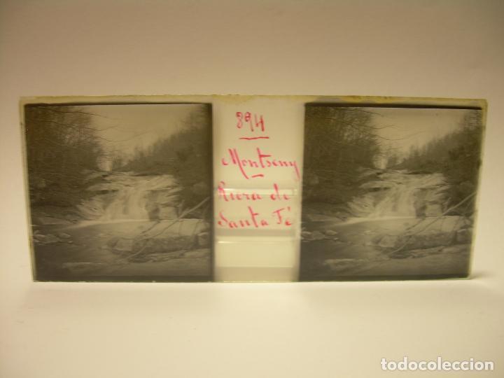 Fotografía antigua: BADALONA- MONTGAT,- MONTSENY- CAJETIN 22 CRISTAL ESTEREOSCOPICO- Ca.1910 - Foto 28 - 88947672