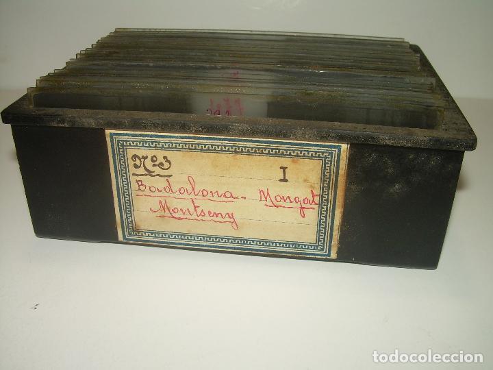 Fotografía antigua: BADALONA- MONTGAT,- MONTSENY- CAJETIN 22 CRISTAL ESTEREOSCOPICO- Ca.1910 - Foto 29 - 88947672