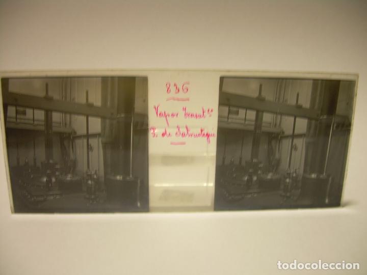 Fotografía antigua: DIEZ CRISTALES ESTEREOSCOPICOS..BARCELONA....TEMA BUQUES..CA.1.905 - Foto 9 - 89103388