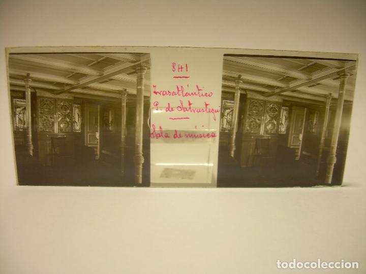Fotografía antigua: DIEZ CRISTALES ESTEREOSCOPICOS..BARCELONA....TEMA BUQUES..CA.1.905 - Foto 10 - 89103388