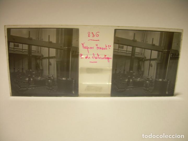 Fotografía antigua: DIEZ CRISTALES ESTEREOSCOPICOS..BARCELONA....TEMA BUQUES..CA.1.905 - Foto 13 - 89103388