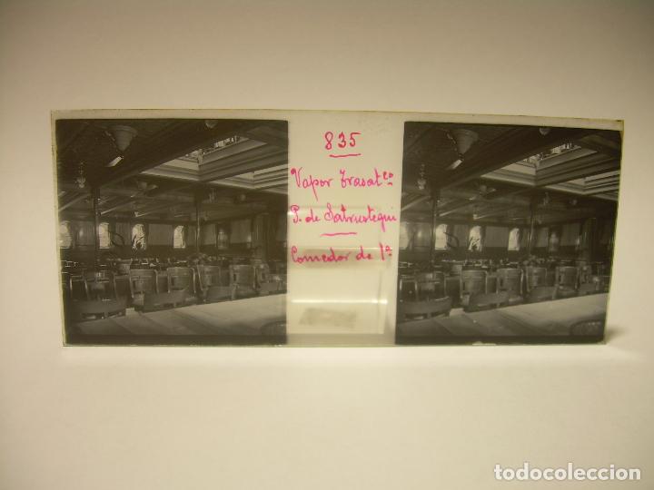 Fotografía antigua: DIEZ CRISTALES ESTEREOSCOPICOS..BARCELONA....TEMA BUQUES..CA.1.905 - Foto 14 - 89103388