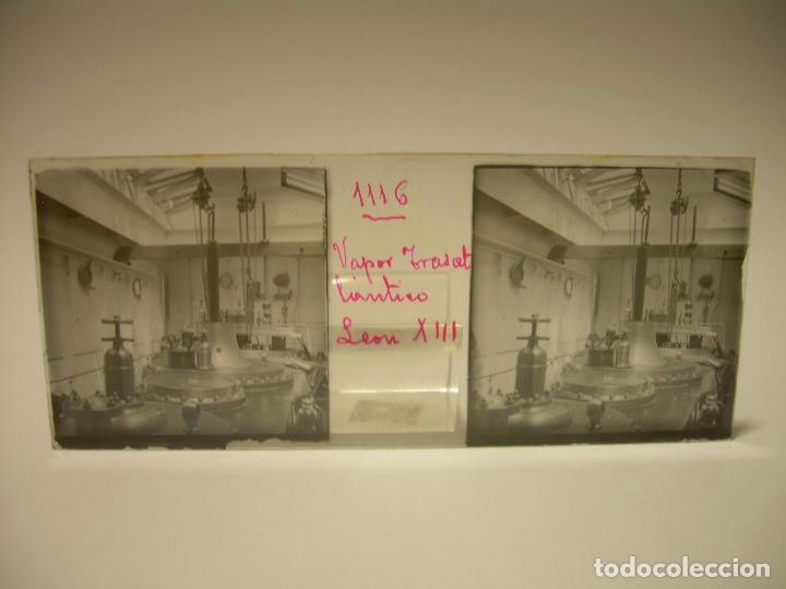 Fotografía antigua: DIEZ CRISTALES ESTEREOSCOPICOS..BARCELONA....TEMA BUQUES..CA.1.905 - Foto 15 - 89103388