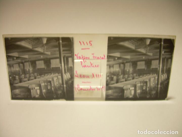 Fotografía antigua: DIEZ CRISTALES ESTEREOSCOPICOS..BARCELONA....TEMA BUQUES..CA.1.905 - Foto 16 - 89103388