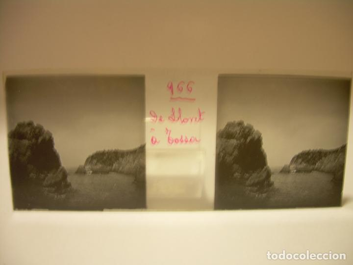 Fotografía antigua: COSTA CATALUÑA, TOSSA DE MAR- LLORET - BLANES -VILLA NUEVA 24 CRISTAL ESTEREOSCOPICO - CA. 1.900 - Foto 11 - 89185272