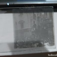 Fotografía antigua: ESTEREOSCOPICA DE CRISTAL 10,5X5 CM Nº96 SALCILLO SALZILLO MURCO PROCESION 1916 VERONICA. Lote 89217824