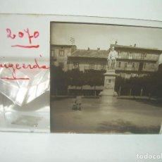 Fotografía antigua: DOS CRISTALES ESTEREOSCOPICOS.....PUIGCERDA.. Lote 89319228