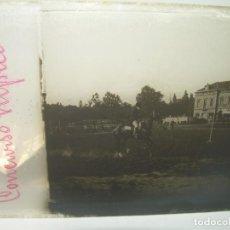 Fotografía antigua: CONCURSO HÍPICA,CABALLOS- CRISTAL ESTEREOSCOPICO- CIRCA. 1.900. Lote 89428084