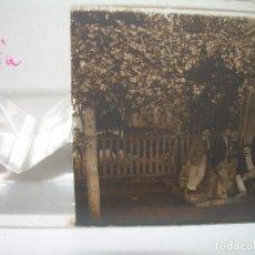 Fotografía antigua: GAVA,BARCELONA- CRISTAL ESTEREOSCOPICO-PERSONAJES ILUSTRES-CIRCA. 1.900. Lote 89429644