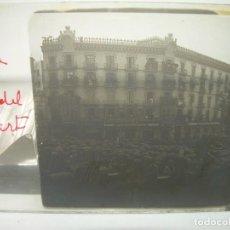 Fotografía antigua: BARCELONA,ENTIERRO DR. ROBERT ALCALDE DE BARCELONA-CRISTAL ESTEREOSCOPICO- 1.902. Lote 89453152