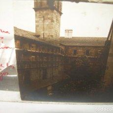 Fotografía antigua: BARCELONA, PATIO DE LOS NARANJOS..CON EL TECHO POR REPARAR-CRISTAL ESTEREOSCOPICO..-CIRCA. 1.900. Lote 89453424