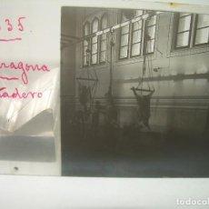 Fotografía antigua: TARRAGONA,MATADERO - CRISTAL ESTEREOSCOPICO- CIRCA. 1.900. Lote 89453612