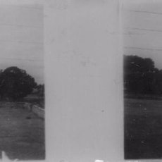 Old photograph - estereoscopica de CRISTAL 10,5x5 ctms principios de siglo nº63 paisaje - 89492964