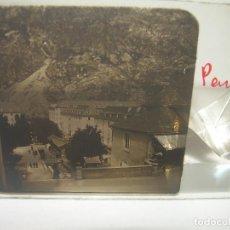 Fotografía antigua: HUESCA,PANTICOSA- CRISTAL ESTEREOSCOPICO- CIRCA. 1.900. Lote 89501976