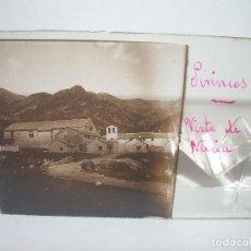 Fotografía antigua: CRISTALES DE NURIA (PIRINEOS)....TOTAL. 8....CIRCA 1.900. Lote 89664744