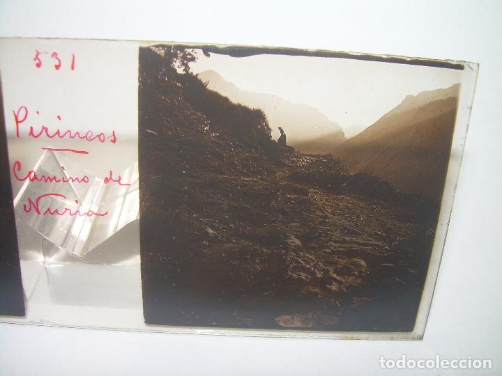 Fotografía antigua: CRISTALES DE NURIA (PIRINEOS)....TOTAL. 8....CIRCA 1.900 - Foto 8 - 89664744