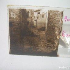 Fotografía antigua: DOS CRISTALES ESTEREOSCOPICOS.......CARALPS.. (GIRONA).......CIRCA. 1.900. Lote 89665708