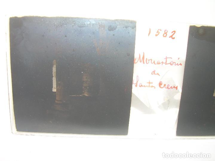 Fotografía antigua: TRES CRISTALES ESTEREOSCOPICOS.......SANTAS CREUS.......CIRCA. 1.900 - Foto 3 - 89666368
