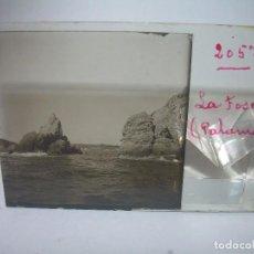 Fotografía antigua: CINCO CRISTALES ESTEREOSCOPICOS.....LA FOSCA..PALAMOS...CIRCA 1.900. Lote 89682192