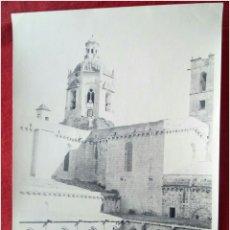 Fotografía antigua: FOTOGRAFIA BASÍLICA DE SANTA CRUZ. Lote 89712811
