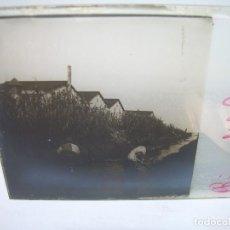Fotografía antigua: CRISTAL ESTEREOSCOPICO.......RIERA DEL CANYERET.......CIRCA. 1.900. Lote 89902244