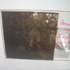 Fotografía antigua: CRISTAL ESTEREOSCOPICO.......BRUGUÈS.......CIRCA. 1.900. Lote 90053256