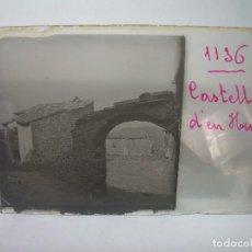 Fotografía antigua: DOS CRISTALES ESTEREOSCOPICOS.......CASTELLÀ DE NUCH.......CIRCA. 1.900. Lote 90053988