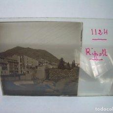 Fotografía antigua: SEIS CRISTALES ESTEREOSCOPICOS.....RIPOLL.....CIRCA..1.900. Lote 90054236