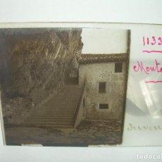 Fotografía antigua: SEIS CRISTALES ESTEREOSCOPICOS...MONTGRONY Y DE RIPOLL A MONTGRONY...CIRCA..1.900. Lote 90054712