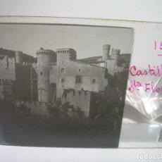 Fotografía antigua: TRECE CRISTALES ESTEREOSCOPICOS......CANET.....CASTILLO DE SANTA FLORENTINA....CIRCA..1.900. Lote 90171112