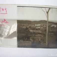 Fotografía antigua: CRISTAL ESTEREOSCOPICO.......BARCELONA....HORTA.......CIRCA. 1.900. Lote 90215156