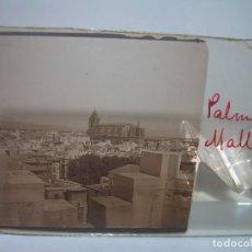 Fotografía antigua: SEIS CRISTALES ESTEREOSCOPICOS.......PALMA DE MALLOCA.....CIRCA 1.900. Lote 90343884