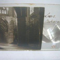 Fotografía antigua: CRISTAL ESTEREOSCOPICO.......CADIZ...LA CATEDRAL.......CIRCA. 1.900. Lote 90345052