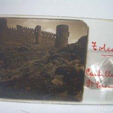 Fotografía antigua: DOS CRISTALES ESTEREOSCOPICOS.......TOLEDO.......CIRCA. 1.900. Lote 94075727
