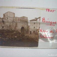 Fotografía antigua: CRISTAL ESTEREOSCOPICO.......BURGOS.......CIRCA. 1.900. Lote 90345308