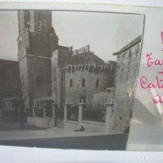 Fotografía antigua: CINCO CRISTALES ESTEREOSCOPICOS......TARRAGONA......CIRCA 1.900. Lote 90347584